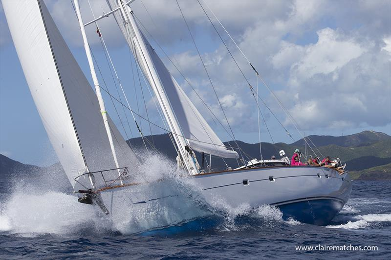 The 148ft (45m) Dubois ketch Catalina - 2019 Superyacht Challenge Antigua - photo © Claire Matches / www.clairematches.com