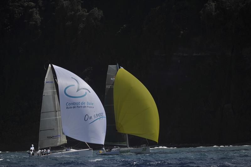 Racing at the Round Martinique Regatta - photo © Image courtesy of the Round Martinique Regatta