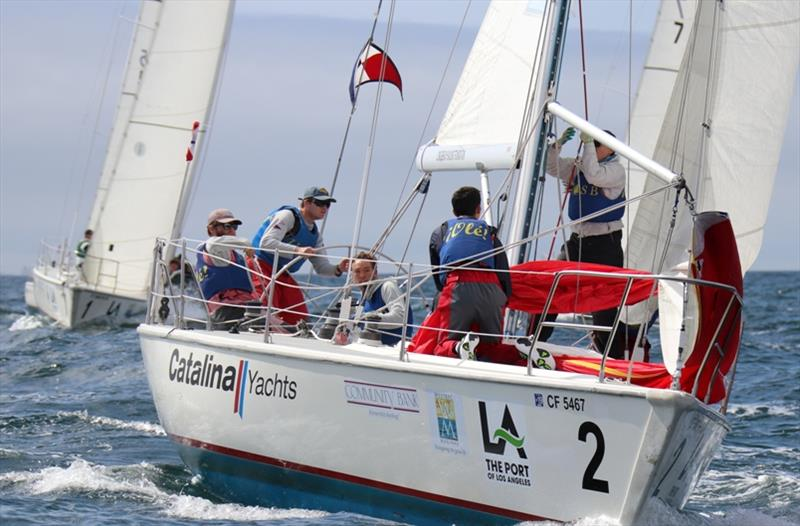 2018 Port of Los Angeles Harbor Cup, Day 3 - photo © Bronny Daniels / Joy Sailing