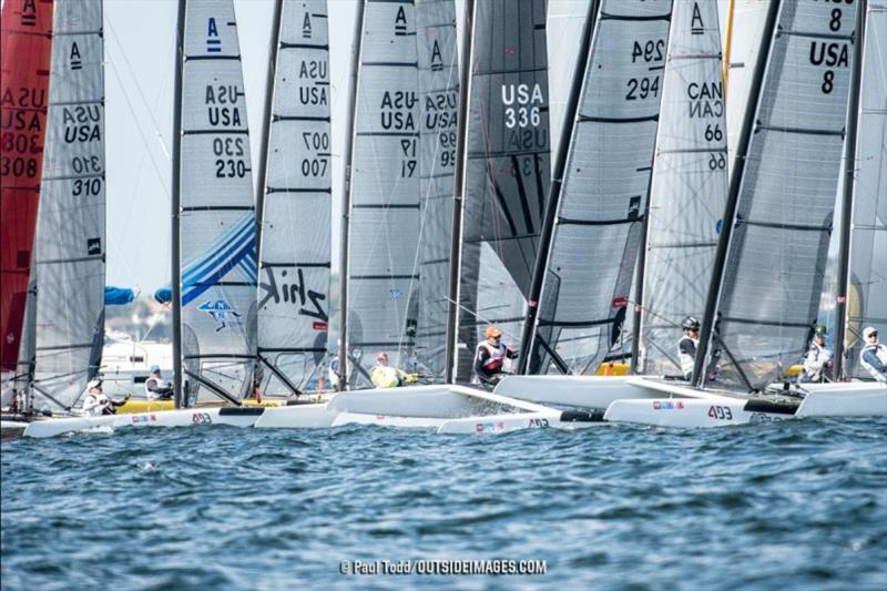2019 Helly Hansen NOOD Regatta in St. Petersburg. - photo © Paul Todd / Outside Images