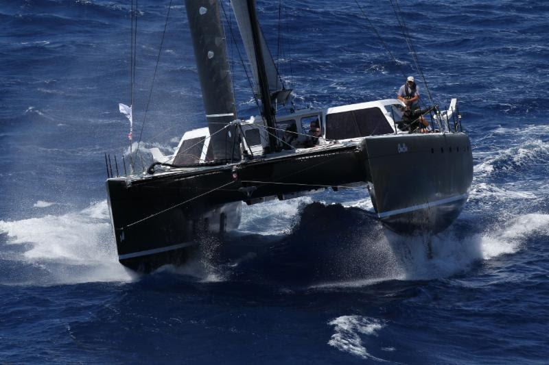 Gunboat Chim Chim, owned by John Gallagher (USA) racing under MOCRA Rule - RORC Caribbean 600 - photo © Tim Wright