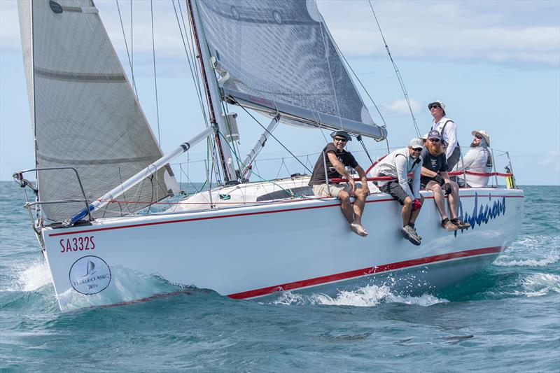 Stuart Johnson's Audacious finished third on PHS in Division 2 - 2019 Teakle Classic Lincoln Week Regatta - photo © Take 2 Photography