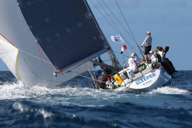 IRC Three winner - Vicki and Jonty Layfield's S&S Swan 48 Sleeper X - RORC Caribbean 600 photo copyright Tim Wright / Photoaction.com taken at Royal Ocean Racing Club and featuring the IRC class