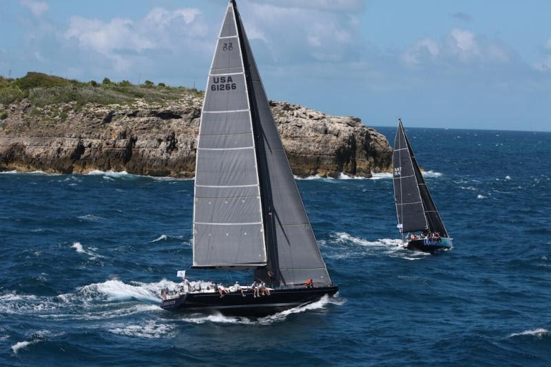 IRC One winner - Gibb Kane's Swan 66 Bounty (USA) - RORC Caribbean 600 - photo © Tim Wright / Photoaction.com