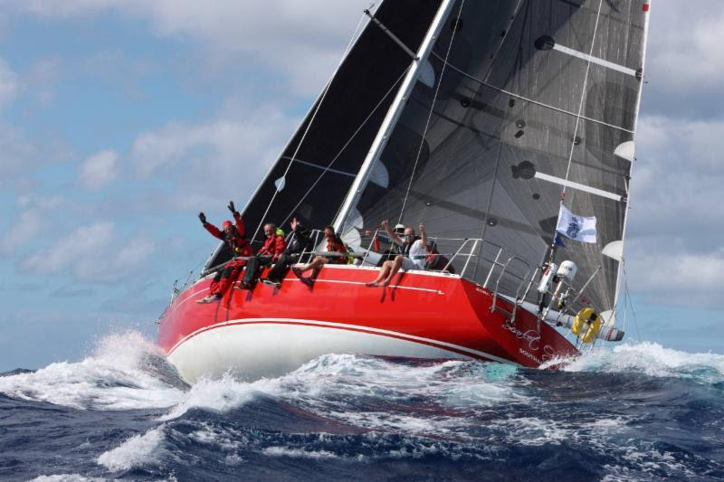 RC Two winner - Ross Applebey's Oyster 48 Scarlet Oyster - RORC Caribbean 600 - photo © Tim Wright / Photoaction.com