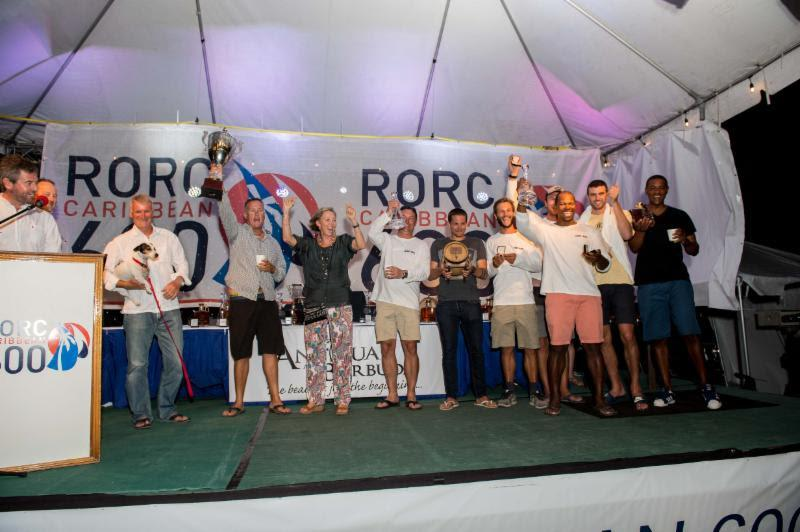 IRC Three was won by Vicki and Jonty Layfield's S&S Swan 48 Sleeper X (GBR) - 2019 RORC Caribbean 600 - photo © Ted Martin / RORC