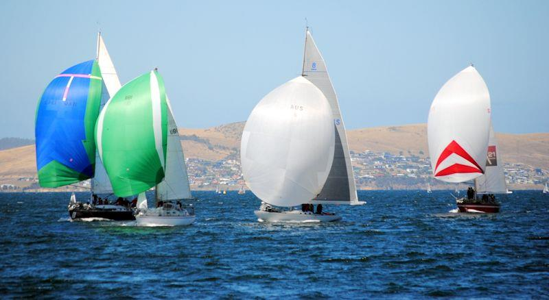 Hobart Combined Clubs Summer Pennant race 7 - photo © Peter Campbell