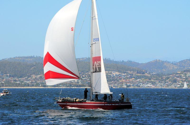 Veteran Natelle II continues to gain to places - Hobart Combined Clubs Summer Pennant race 7 - photo © Peter Campbell