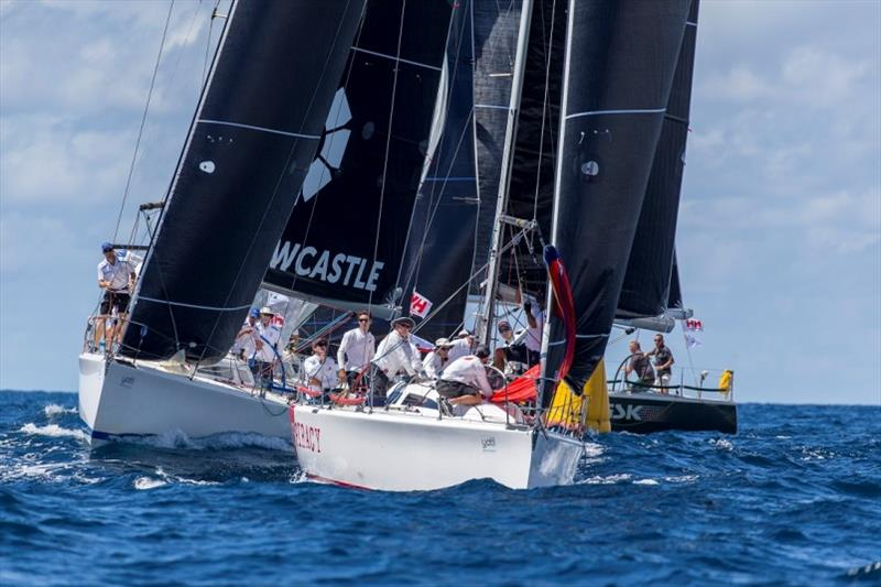 Conspiracy holds off her contemporaries - Sydney Harbour Regatta 2019 photo copyright Andrea Francolini taken at Middle Harbour Yacht Club and featuring the IRC class
