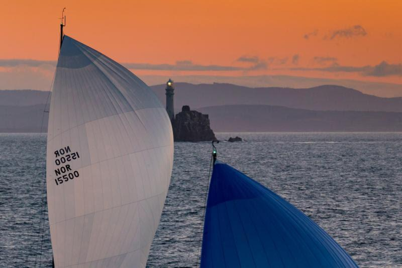 Once sailors reach the Fastnet Rock, they are well over halfway to the finish in Plymouth - photo © Carlo Borlenghi / Rolex
