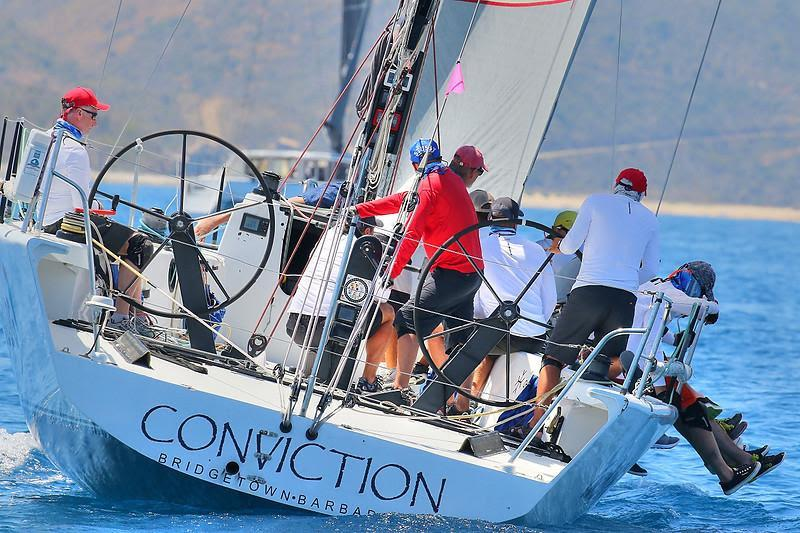 Racing 1: First Russian team to win the racing class - TP52 Conviction - BVI Spring Regatta 2019 - photo © Ingrid Abery / www.ingridabery.com
