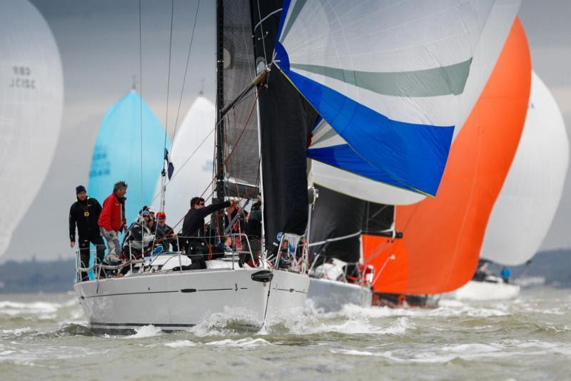 Former RORC Admiral Andrew McIrvine's First 40 La Réponse in RORC Easter Challenge - photo © Paul Wyeth / www.pwpictures.com