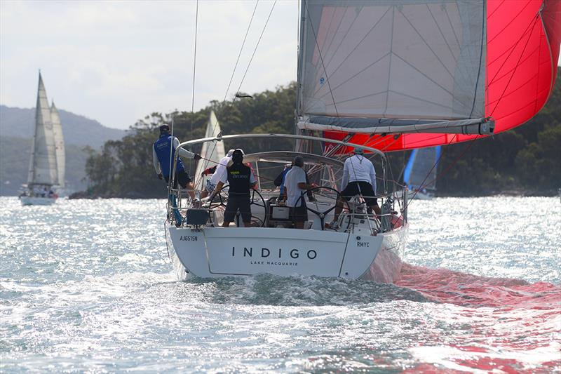 Indigo wins div 2 overall Commodore's Cup - photo © Mark Rothfield