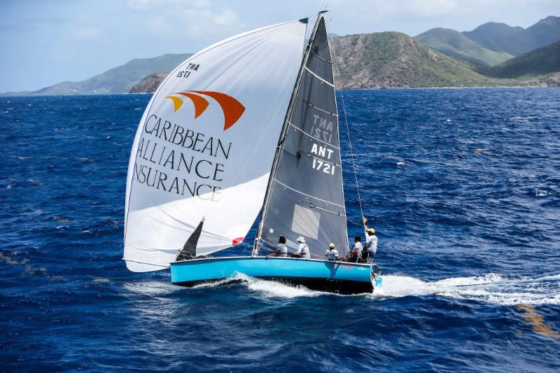 Jules Mitchell's young team from Antigua will be back following their class win last year - Antigua Sailing Week photo copyright Paul Wyeth taken at Antigua Yacht Club and featuring the IRC class