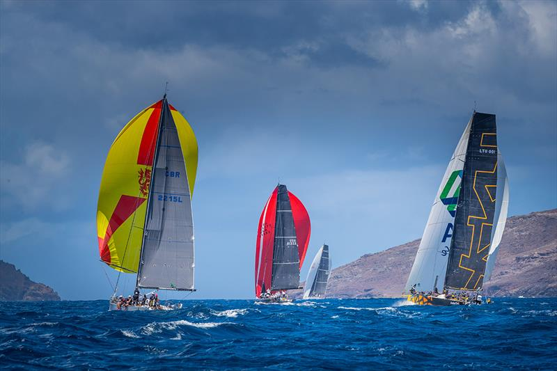 2019 Les Voiles de St. Barth Richard Mille - Day 2 photo copyright Christophe Jouany taken at  and featuring the IRC class