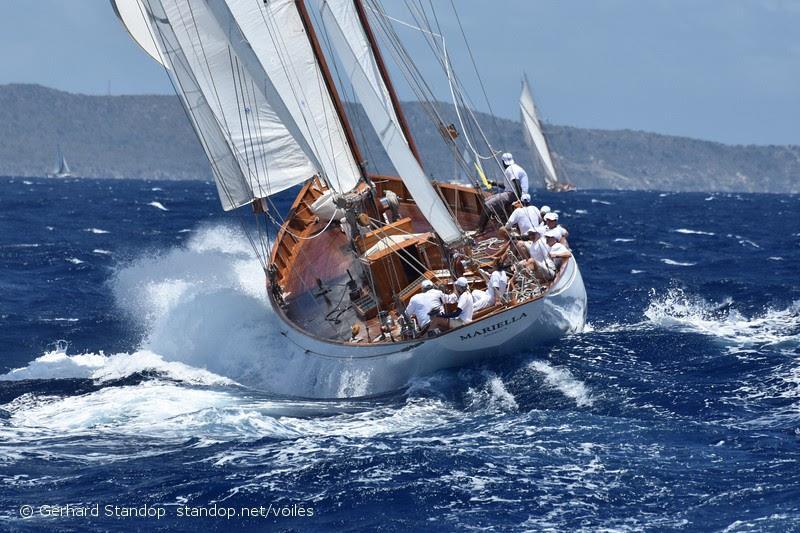 2019 Locman Antigua Classic Yacht Regatta - Day 2