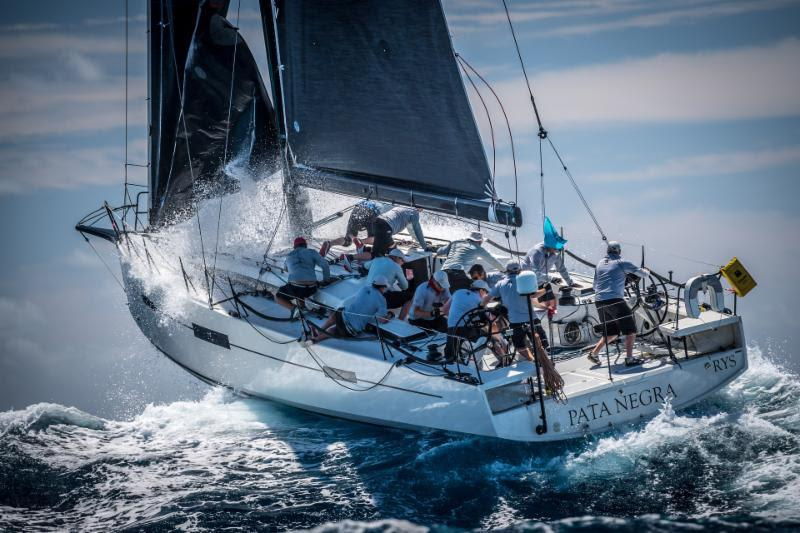 British Lombard 46 Pata Negra - Antigua Sailing Week - photo © Tobias Stoerkle Photography