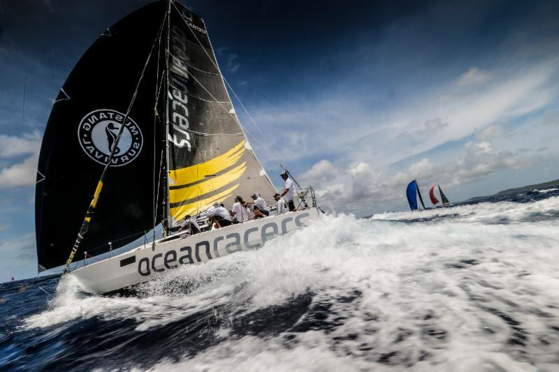 Morgen Watson and Meg Reilly's Pogo 12.50 Hermes Ocean Racers - Antigua Bermuda Race - photo © Paul Wyeth / pwpictures.com