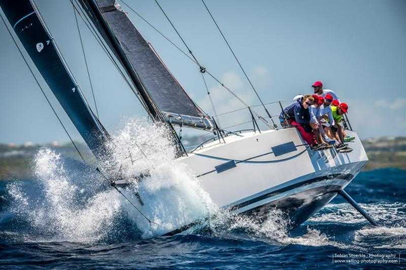 Lombard 46 Pata Negra (GBR) skippered by Andy Liss - Antigua Bermuda Race - photo © Tobias Stoerkle