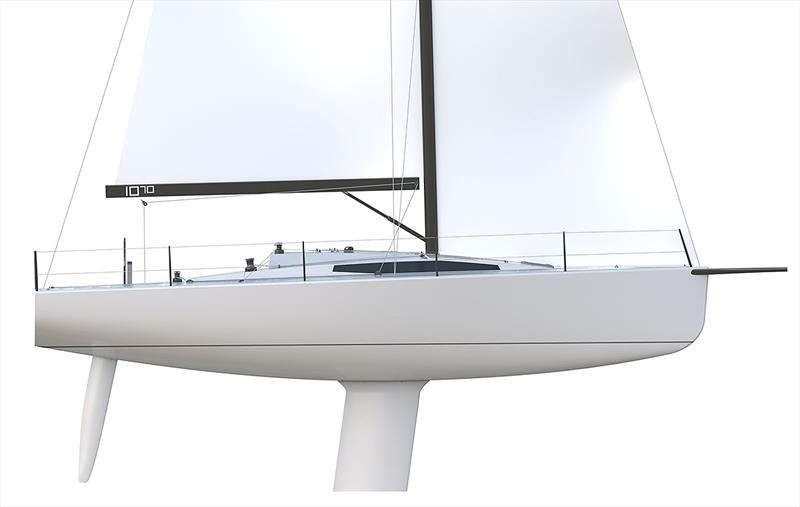 Profile of the M.A.T 1070 - note the rocker and also fin keel - photo © M.A.T
