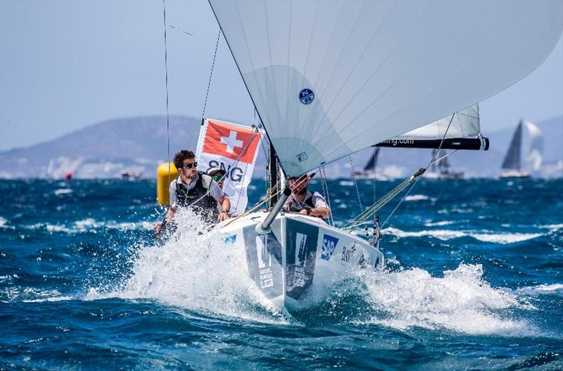 4th place: Société Nautique de Genève from Switzerland - SAILING Champions League 2019 photo copyright SCL / Sailing Energy taken at Club Nàutic S'Arenal and featuring the IRC class