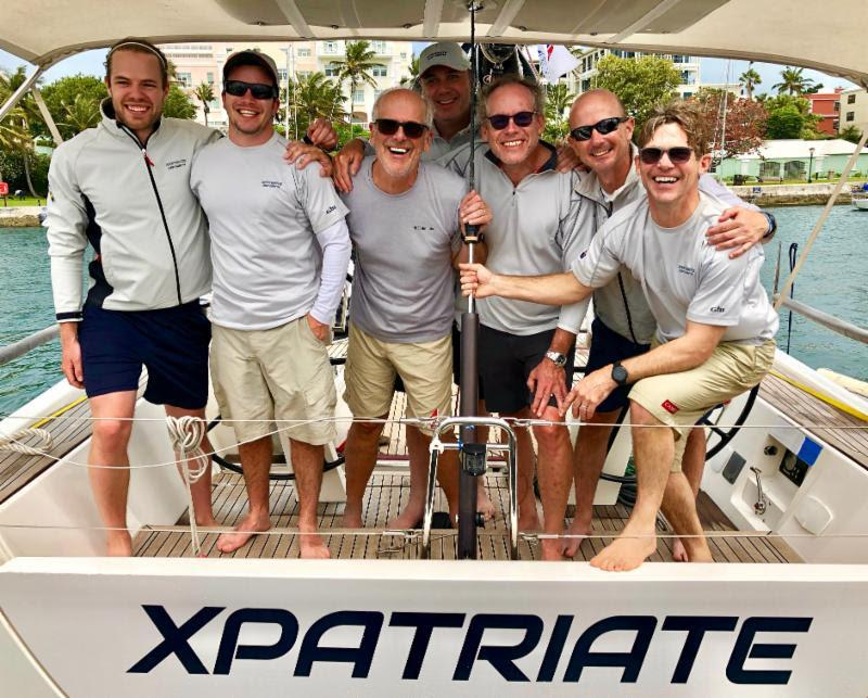 A close second place overall in IRC for Peter Grueterich's XP44 Xpatriate - 2019 Antigua Bermuda Race - photo © Louay Habib