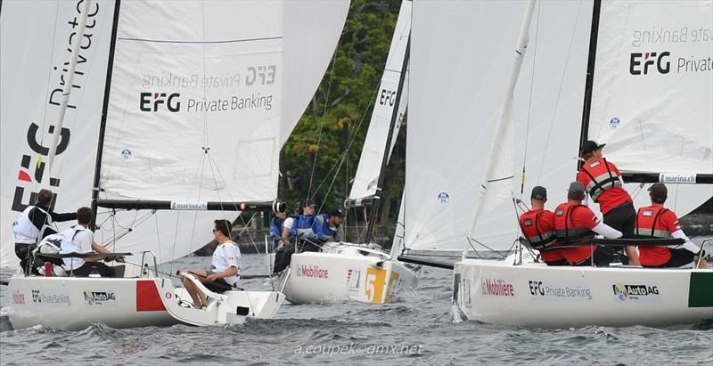 Eurosaf Club Sailing European Championship in Ascona, Switzerland - Day 3