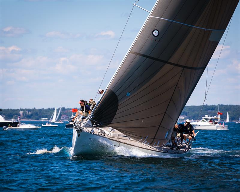 Racecourse action during the Marblehead to Halifax Ocean Race - photo © Images courtesy of Craig Davis