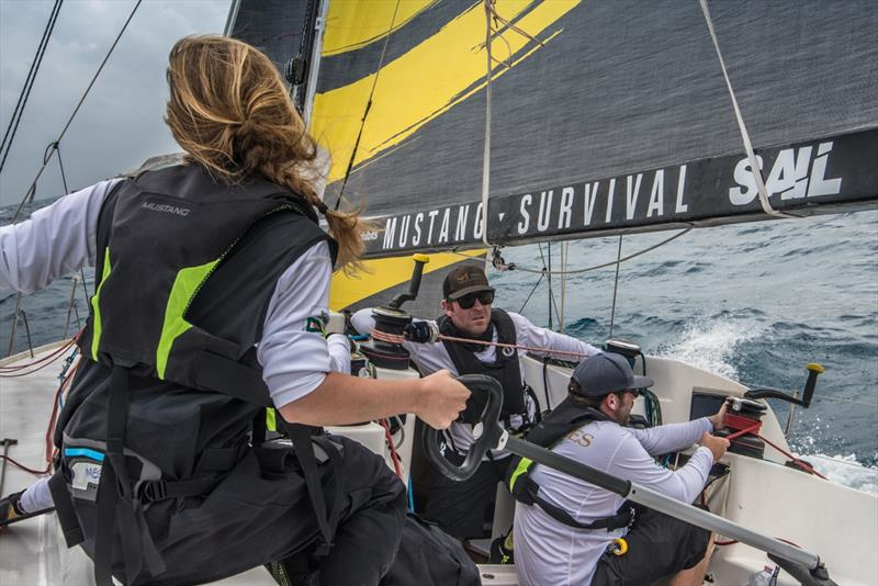 Ocean Racers team on their against-the-odds 2018 Rolex Middle Sea Race photo copyright Annie-Claude Roberge taken at Royal Malta Yacht Club and featuring the IRC class