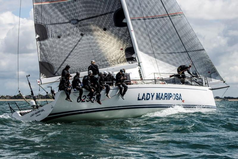 Ker 46 Lady Mariposa, skippered by Nigel King. - photo © Paul Wyeth