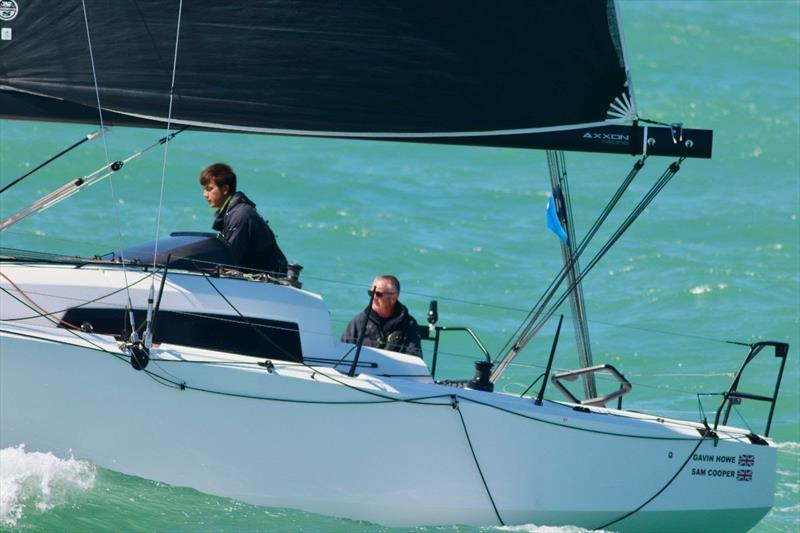 Gavin Howe's Hamble, UK based Sun Fast 3600 Tigris finishing in Dieppe - 2019 RORC Morgan Cup - photo © Louay Habib