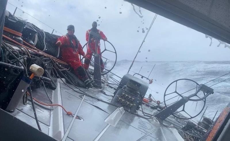 David Witt and the supermaxi SHK Scallywag - Transatlantic Race 2019 - photo © SHK Scallywag