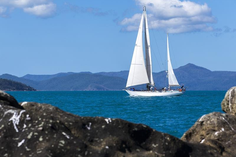 Steve Capell's Eve won the early prize draw - Airlie Beach Race Week - photo © Andrea Francolini