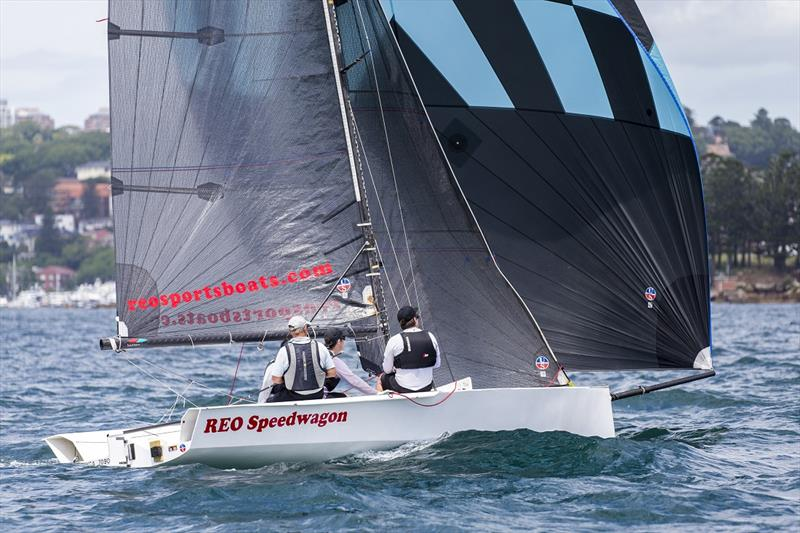 Andrew York with the foot down on REO Speedwagon - Airlie Beach Race Week - photo © Andrea Francolini