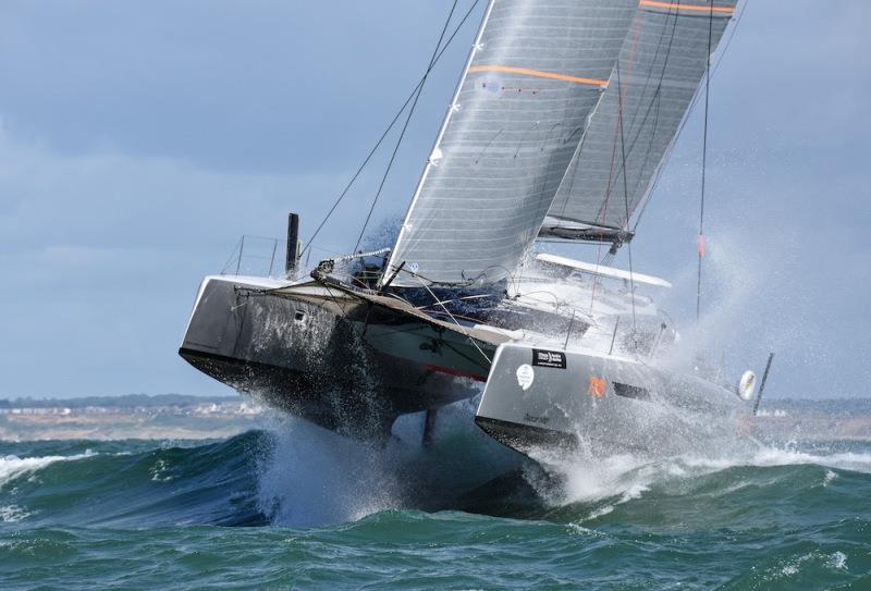 Simon Baker's 1495 Dazcat Hissy Fit (Dazcat) - RORC Cowes Dinard St Malo Race - photo © James Tomlinson / RTP