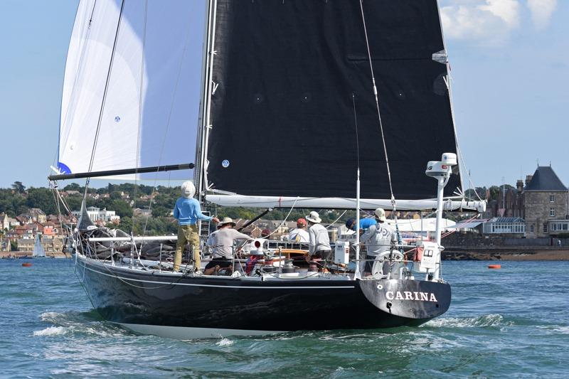 Rives Potts' venerable Carina - photo © Rick Tomlinson