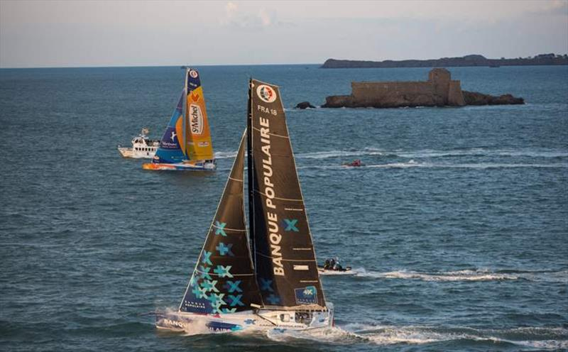 Start of the Prologue race close to the shore - photo © Lloyd Images
