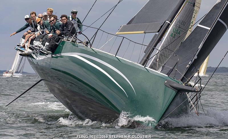 Fling 16 will sail in IRC Division at Edgartown Race Weekend. - photo © Stephen Cloutier
