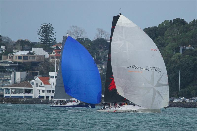 V5 and Georgia Racing - RNZYS Winter Race - July 27,  2019 - photo © Richard Gladwell