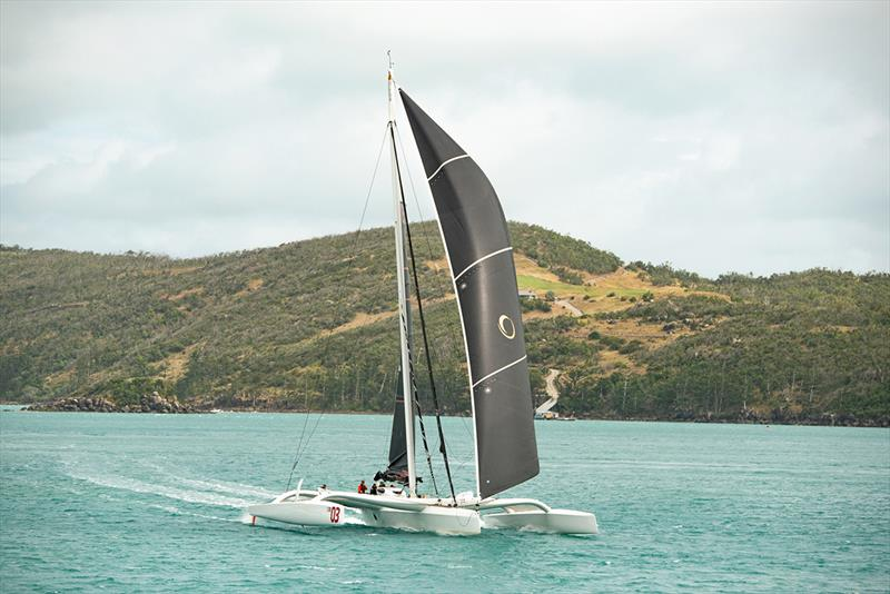 Beau Geste in Dent Passage - Lendlease Brisbane to Hamilton Island Yacht Race - photo © Simon Hutchen