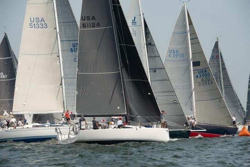 The start of the 2018 Ida Lewis Distance Race. photo copyright Michele Almeida / MISTE Photography taken at Ida Lewis Yacht Club and featuring the IRC class