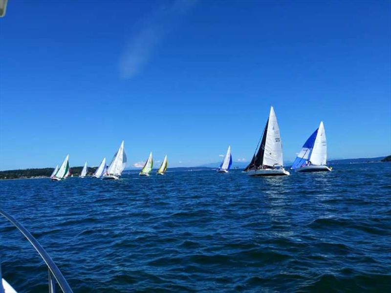 Glorious Whidbey Island Race Week