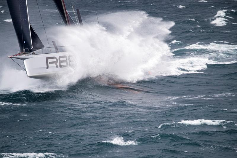 Strong winds and big seas have defined the passage across the Celtic Sea in the 48th Rolex Fastnet Race - photo © Carlo Borlenghi / Rolex
