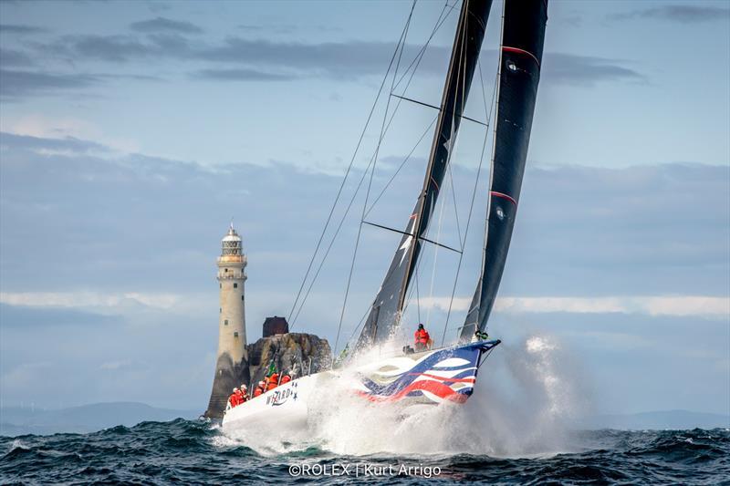 Wizard's Rolex Fastnet Race win creates sailing history