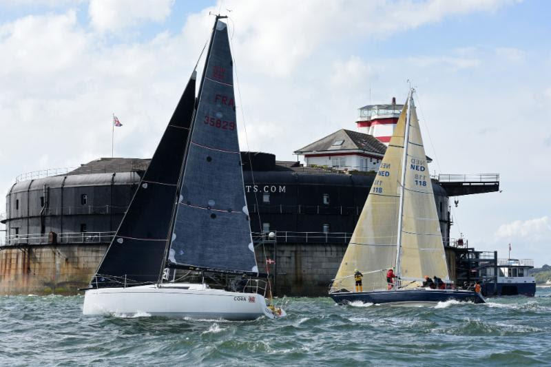 Cora in the Solent for the Cervantes Trophy earlier this year - 2019 Rolex Fastnet Race - photo © Rick Tomlinson / www.rick-tomlinson.com
