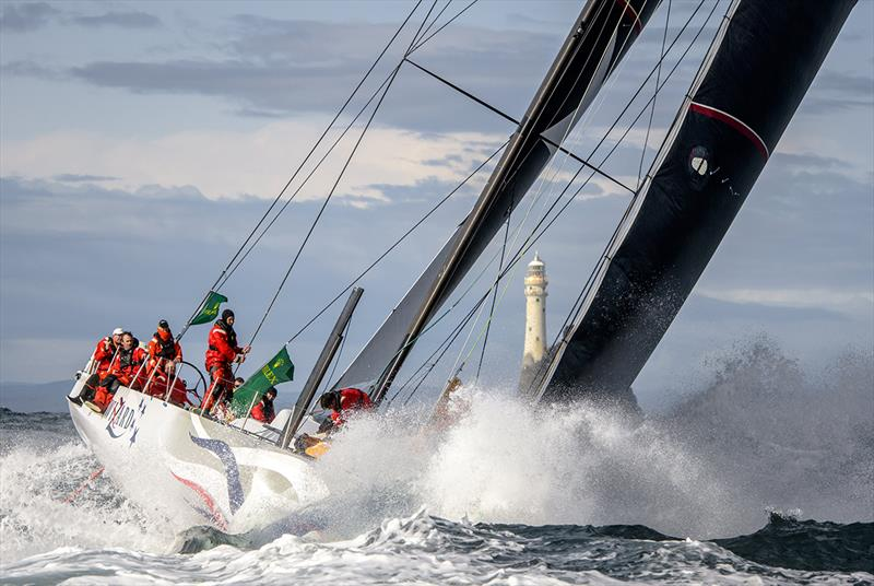 Wizard, Sail no: USA70000, Class: IRC Zero, Owner: David and Peter Askew, Sailed by: Charlie Enright - Rolex Fastnet Race 2019 - photo © Kurt Arrigo
