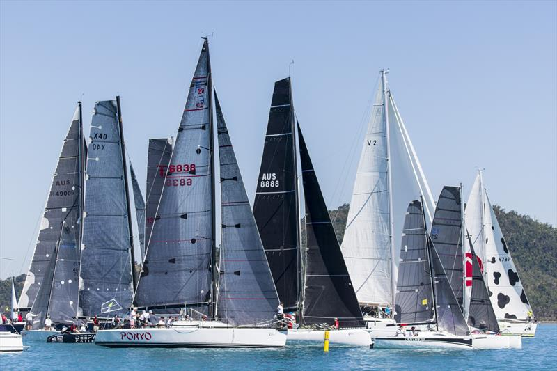 Start 1 on Day 1 - Airlie Beach Race Week 2019 - photo © Andrea Francolini