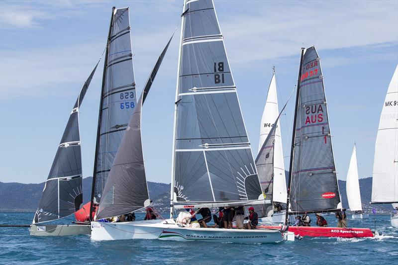 REO Sportswagon (right) - Airlie Beach Race Week 2019 - photo © Andrea Francolini