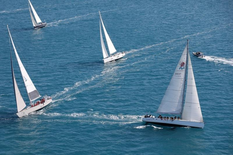 Airlie Beach Race Week, Day 4: The diamonds and the dusty