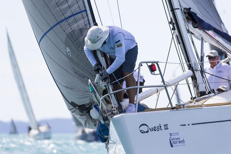 Quest 3 on top - Airlie Beach Race Week - photo © Andrea Francolini